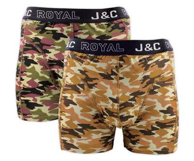 J&C 2-pack Heren boxershorts H235-30049