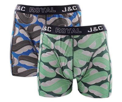 J&C 2-Pack Heren boxershorts H236-30052
