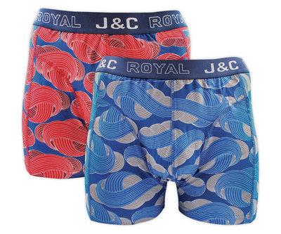 J&C 2-pack Heren boxershorts H236-30051