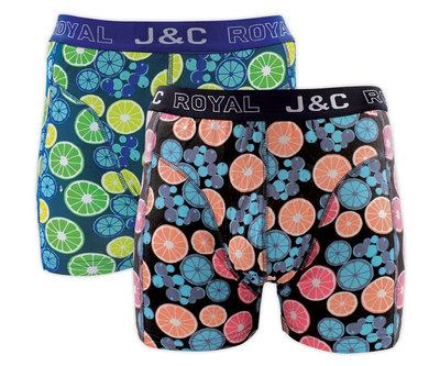 J&C 2-pack Heren boxershorts H237-30054