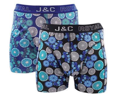 J&C 2-pack Heren boxershorts H237-30053