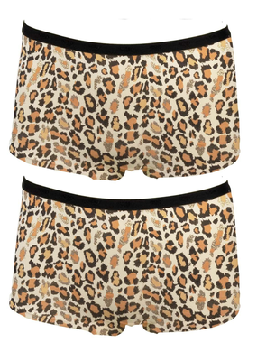 2-Pack Fun2Wear Meisjes boxershorts Animal Wheat