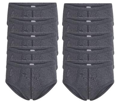 Beeren 10-Pack Heren slips M55 Zwart