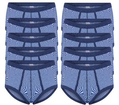Beeren 10-Pack Heren slips met gulp M2000 Blauw