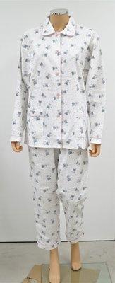 Cocodream Flanel Pyjama Forest Wit