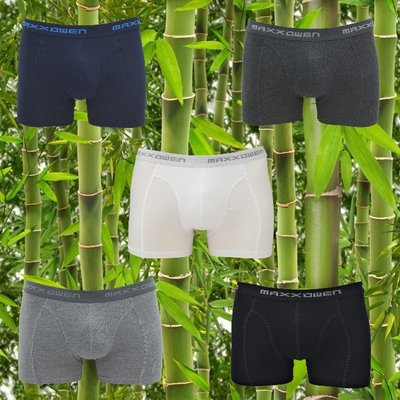 5-pack Maxx Owen Bamboe Heren boxershorts Mix