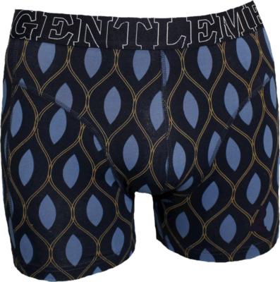 Gentlemen Heren boxershort Marine Druppels