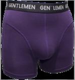 Gentlemen Heren boxershort Modal Paars