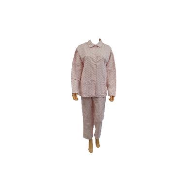 Cocodream Flanel Pyjama Blaadje Roze