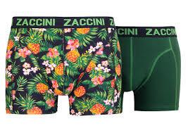 Zaccini 2-pack Heren boxershorts Pineapple