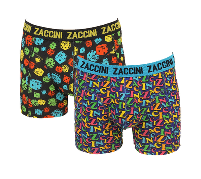 Zaccini 2-pack Heren boxershorts  deal 1