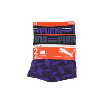 Puma 2-Pack Heren boxershorts Petunia