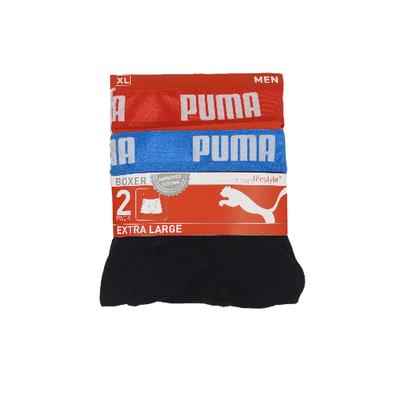 Puma 2-Pack Heren boxershorts Scuba Red/Bleu