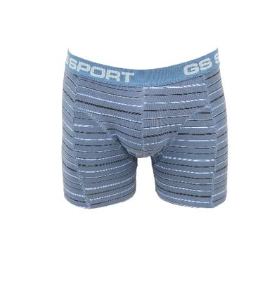GS Sport Heren boxershort Blauw Zwart gestreept