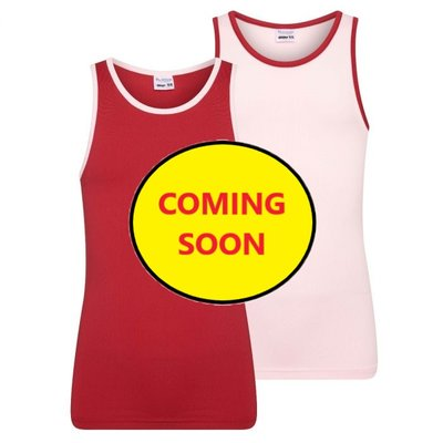 Beeren 2-Pack Mix&Match meisjes hemden L.Roze/D.Rood
