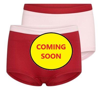 Beeren Mix&Match meisjes boxershorts L.Roze/D.Rood