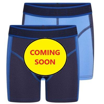 Beeren 2-Pack Mix&Match  Jongens boxershorts Blauw/D.Blauw