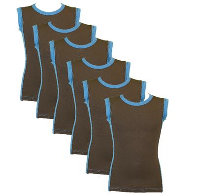 Beeren 6-Pack Jongens mouwloze shirts B.Y. Sjimmie