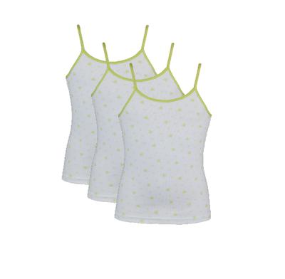 Beeren 3-Pack Meisjes hemden Love Lime