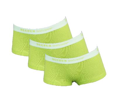 Beeren 3-Pack Meisjes boxershorts Vicky Groen