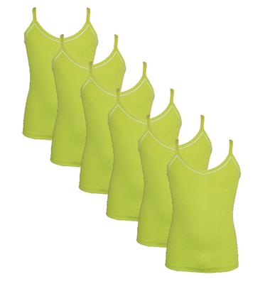 Beeren 6-Pack Meisjes hemden Vicky Groen