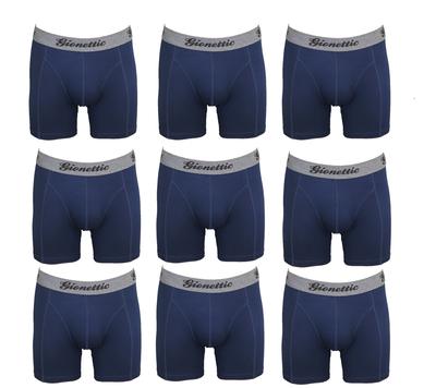 9-Pack Gionettic Modal Heren boxershorts Marine