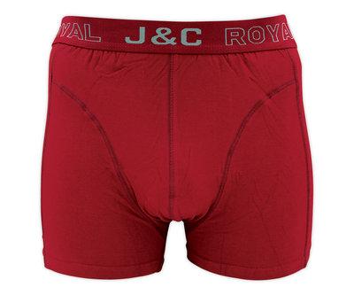 J&C Heren boxershort H152 Rood