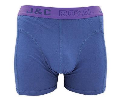 J&C Heren boxershort H152 Jeans Blauw