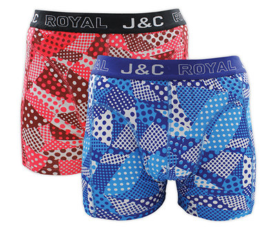 J&C 2-pack Heren boxershorts H230-30039