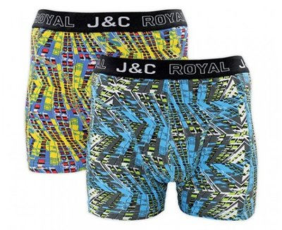 J&C 2-pack Heren boxershorts H229-30037