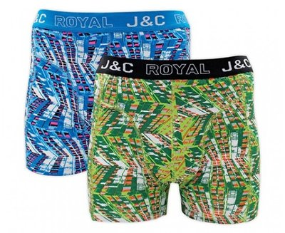 J&C 2-pack Heren boxershorts H229-30038