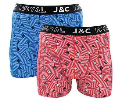 J&C 2-pack Heren boxershorts H231-30041