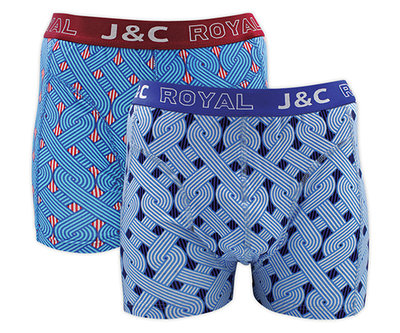 J&C 2-pack Heren boxershorts H231-30042