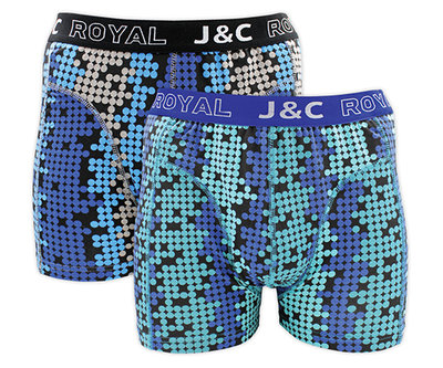 J&C 2-pack Heren boxershorts H234-30048