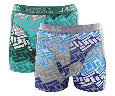 J&C 2-pack Heren boxershorts H227-30034