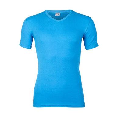 Beeren Heren V-hals T-shirt Korte Mouw M3000 Blue