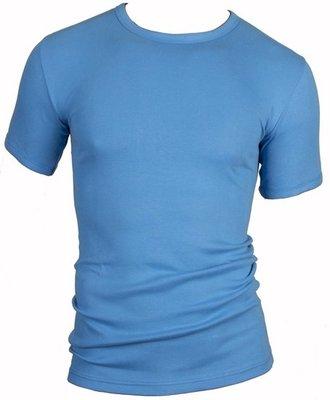 Beeren Heren T-shirt Korte Mouw M3000 Blue