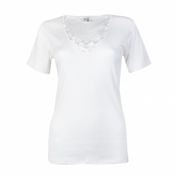Beeren Dames shirt korte mouw Beatrix Wit