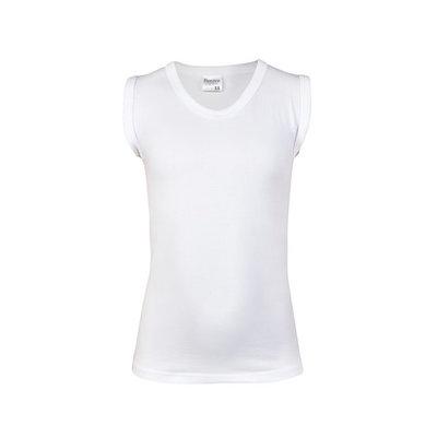 Beeren Jongens mouwloos shirt Comfort Feeling Wit