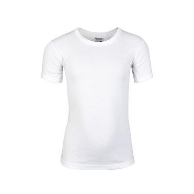 Beeren Jongens ronde hals T-shirt Korte Mouw Wit