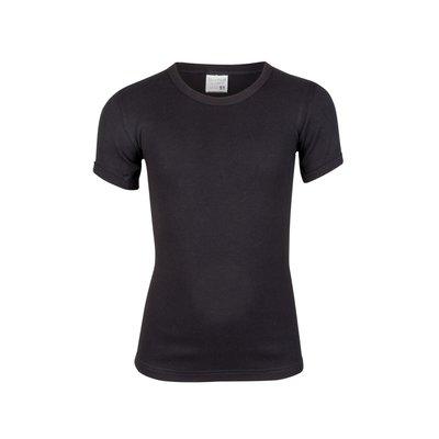Beeren Jongens ronde hals T-shirt Korte Mouw Zwart