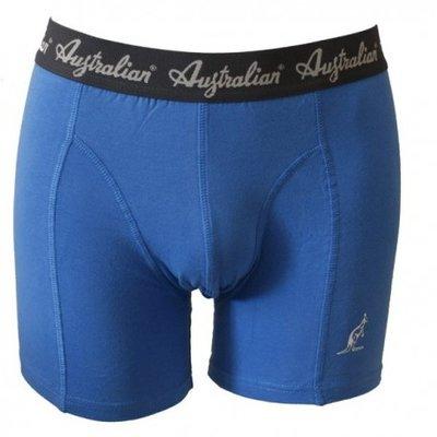 Australian Heren boxershort Blauw met zwarte band