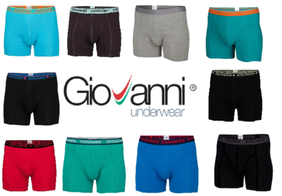 10-pack Giovanni Heren boxershorts assorti