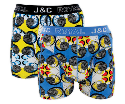 J&C 2-pack Heren boxershorts H222-30022