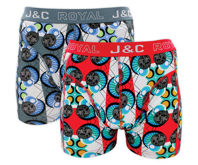 J&C 2-pack Heren boxershorts H222-30023