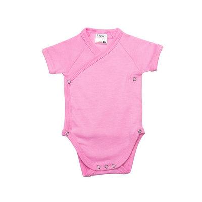 Beeren Baby overslagromper Roze
