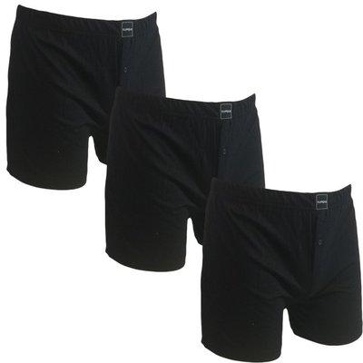 Suaque 3-pack Heren boxershorts Zwart (vervanger van de Gino Santi boxershort)