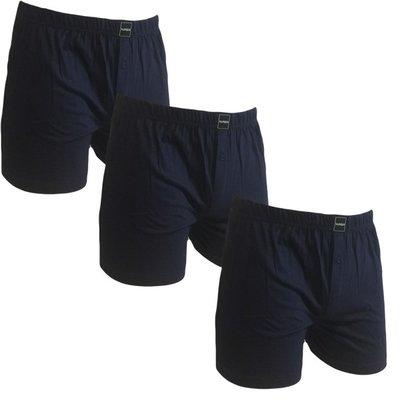 Suaque 3-pack Heren boxershorts Navy (vervanger van de Gino Santi boxershort)