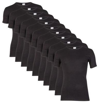 Beeren 10-Pack Heren T-shirts Korte Mouw M3000 Zwart