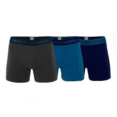 Muchachomalo 3-pack Heren boxershorts Solid 203